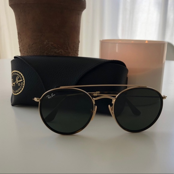 1f9a2444c sweden ray ban double bridge aviator sunglasses bed3a cf32b